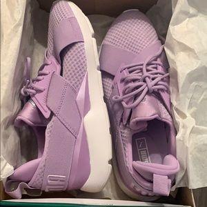 Puma Shoes - purple Muse Puma size 8